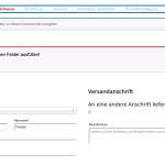woocommerce-german-shop checkout error