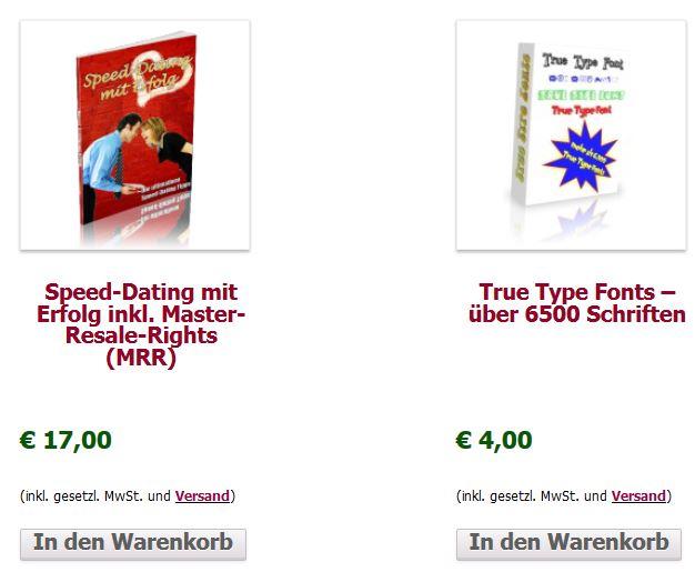 WooCommerce Shop Katalogansicht Neu