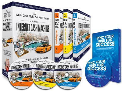 Internet Cash Machine DVD-Set