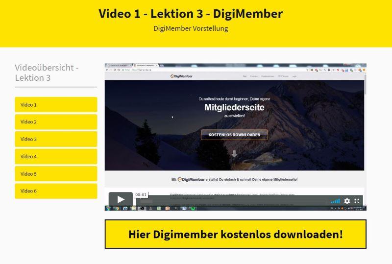 Das Digitalprodukt System 1.0 - DigiMember