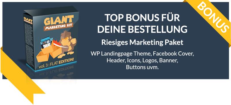 giant marketing kit bonus