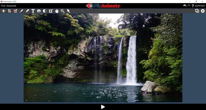 PicAnimate - Bild hochladen