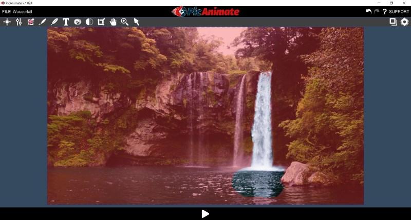 PicAnimate - Bereiche markieren