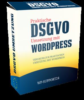 Die Umsetzung der DSGVO mit Wordpress
