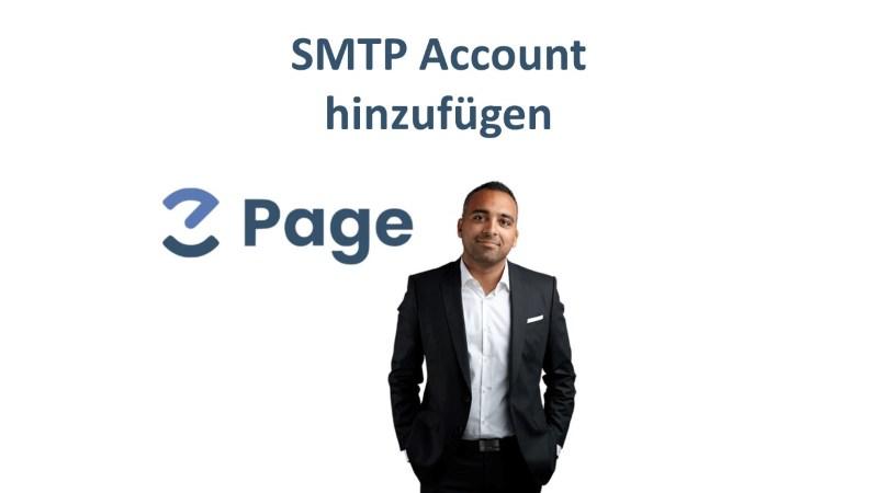 EZ Page von Said Shiripour - SMTP Account hinzufügen