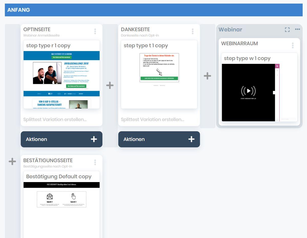 EZ Page Webinar Funnek