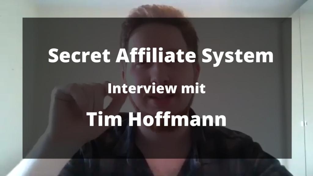 Affiliate Secret System